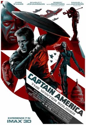 Kaptan Amerika Marvel Film Poster Süper Kahramanlar Kanvas Tablo