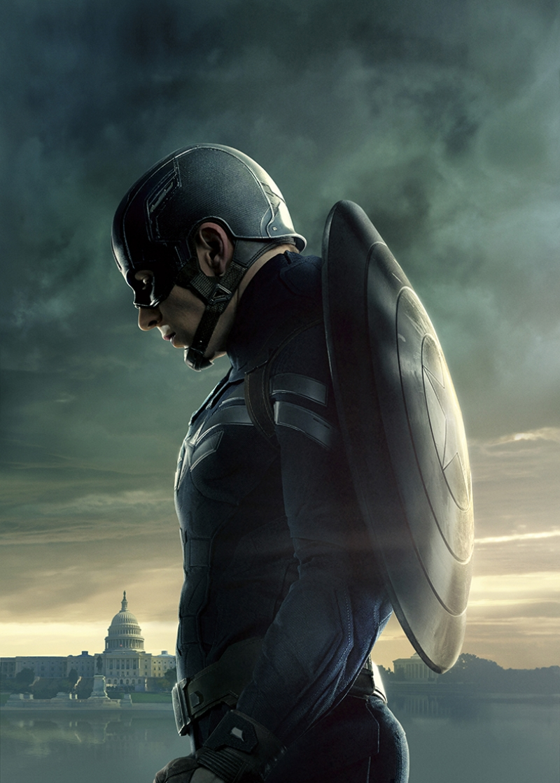 Kaptan Amerika Marvel Kanvas Tablo