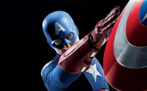 Kaptan Amerika Marvel Popüler Kültür Kanvas Tablo