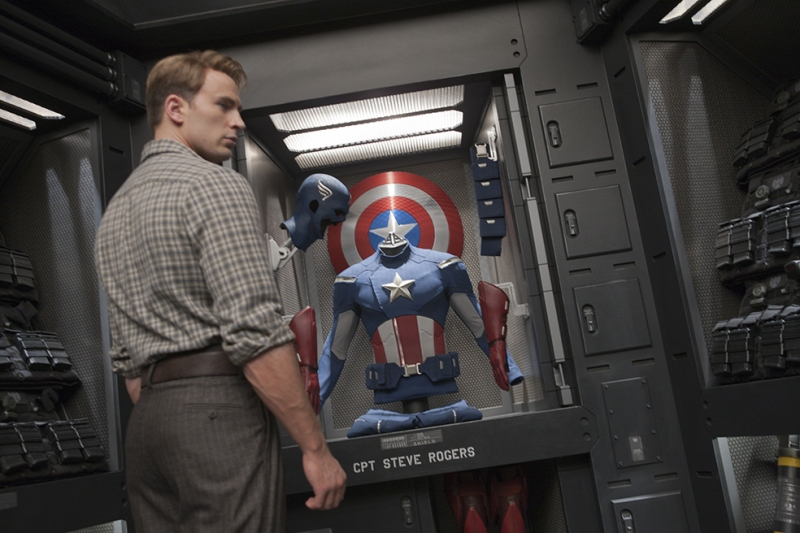 Kaptan Amerika Popüler Kültür Kanvas Tablo