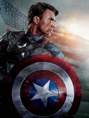 Kaptan Amerika Yüzbaşı Steve Sinema Kanvas Tablo