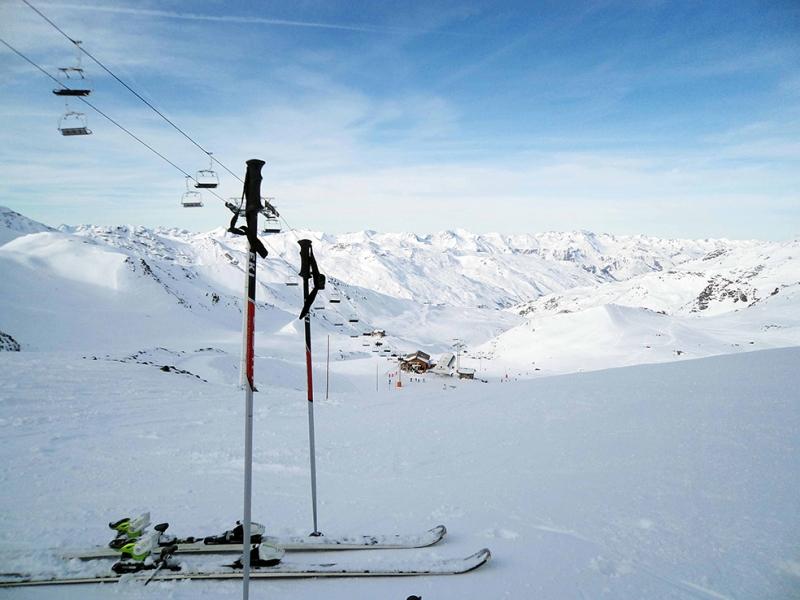 Kar Kayak Kızak Doğa Manzaraları Kanvas Tablo