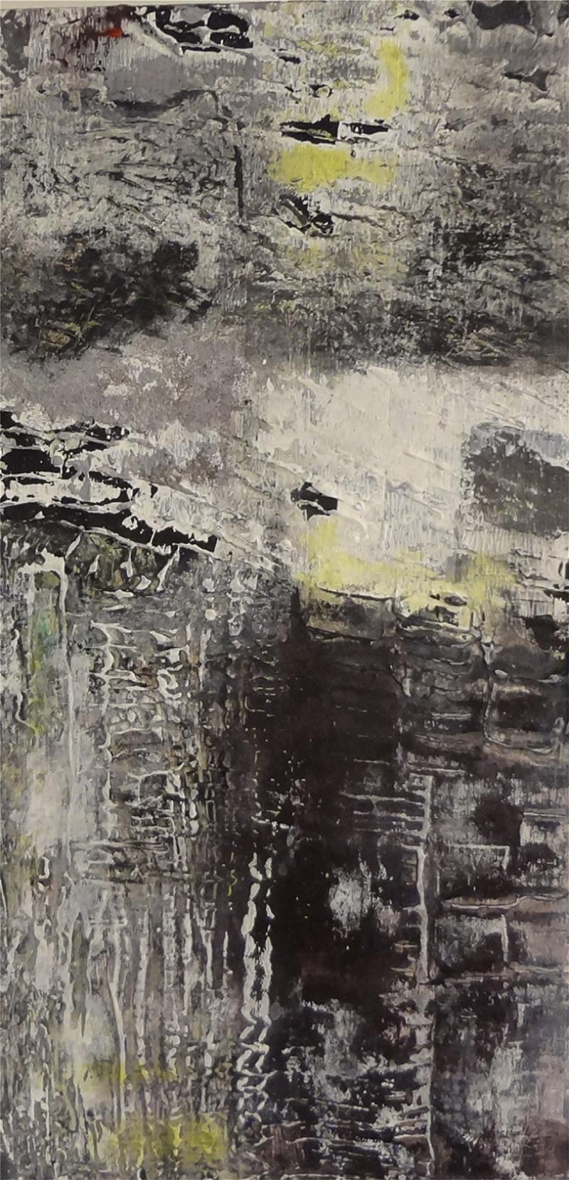 Karamsarlık Abstract Soyut Yağlı Boya Sanat Kanvas Tablo