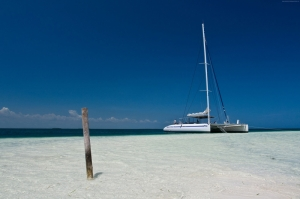 Karayip Denizi Cayo Blanco Adası Küba Doğa Manzaraları Kanvas Tablo
