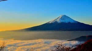 Karlı Dağ Doğa Manzaraları Kanvas Tablo