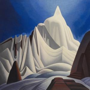 Karli Dağlar, Lawren Harris Klasik Sanat Kanvas Tablo