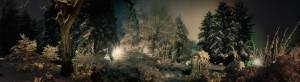 Karlı Orman Manzarası Doğa Manzaraları Kanvas Tablo