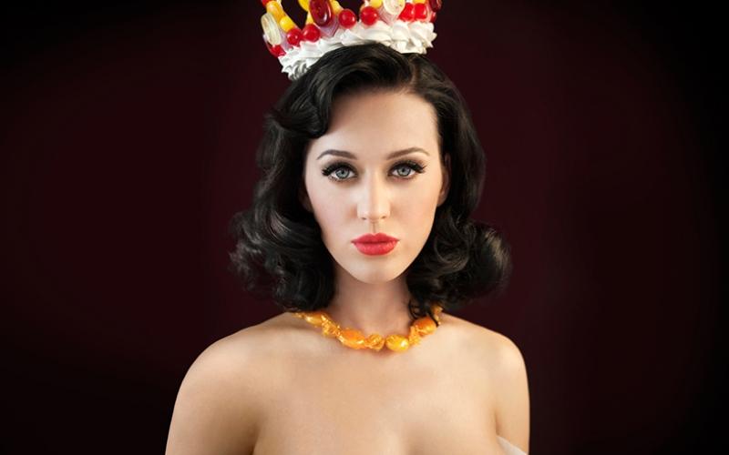 Katy Perry Ünlü Yüzler Kanvas Tablo 2