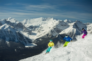 Kayak Dağ Manzarası Spor Kanvas Tablo