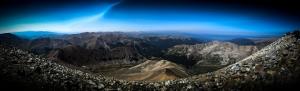 Kayalık Vadi Panaroma Panaromik Manzara Kanvas Tablo