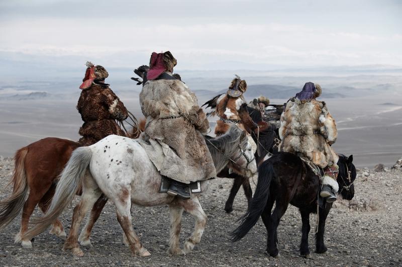 Kazak Türkleri 2 Fotoğraf Kanvas Tablo