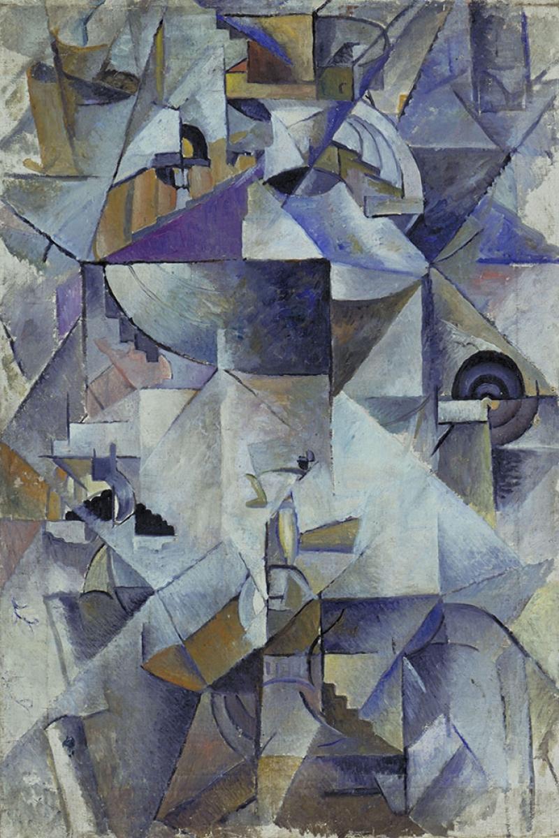 Kazimir Malevich Soyut Abstract Yagli Boya Klasik Sanat Kanvas Tablo