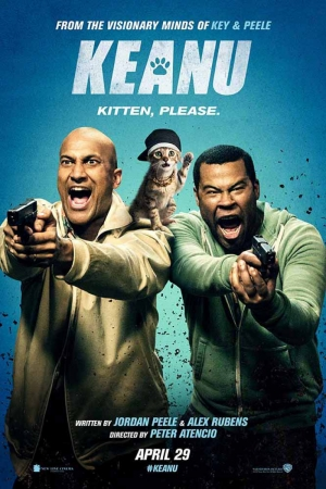 Keanu  Key And Peale And Kitten Film Afişi Sinema Kanvas Tablo