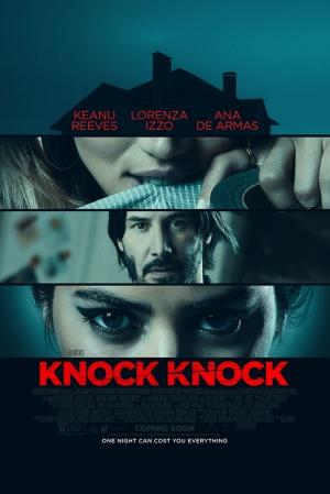 Keanu Reeves Knock Knock Kanvas Tablo