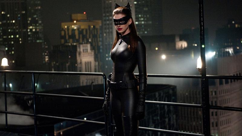 Kedi Kadın Süper Kahramanlar Kanvas Tablo