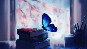 Kelebek Hayvanlar Kanvas Tablo