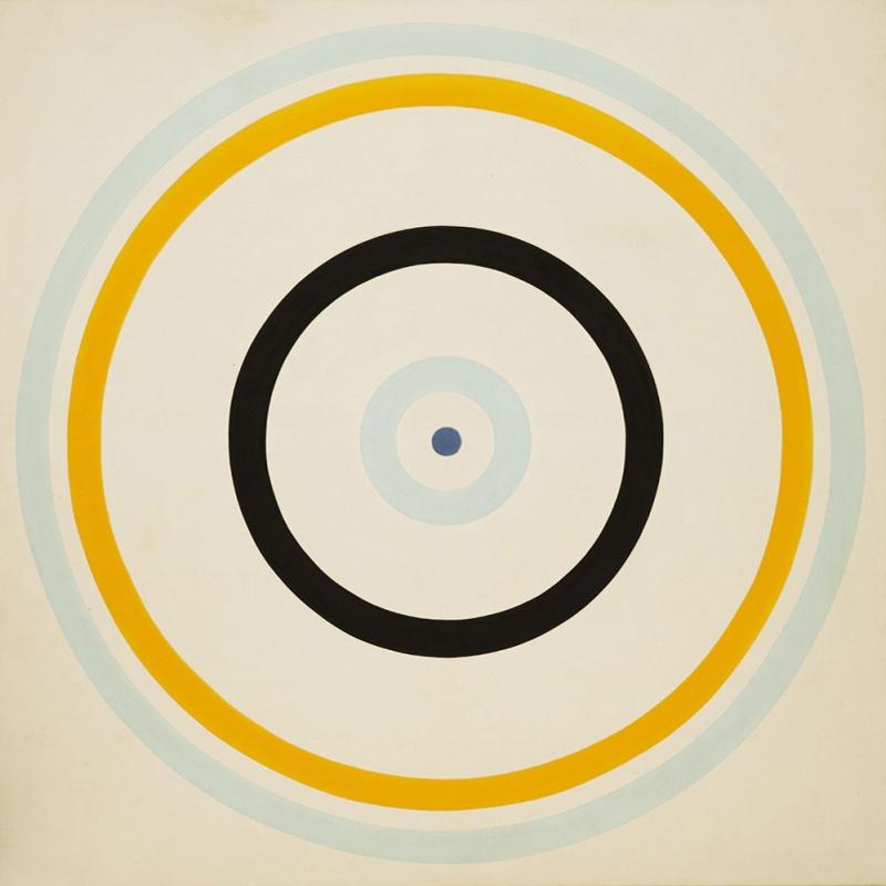 Kenneth Noland Cark Yagli Boya Klasik Sanat Kanvas Tablo