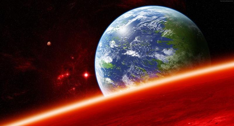 Kepler 4 Dünya & Uzay Kanvas Tablo