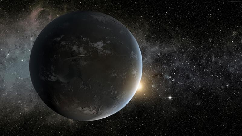 Kepler 5 Dünya & Uzay Kanvas Tablo