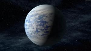 Kepler Uydu Gezegen Uzay Yıldızlar 2 Dünya & Uzay Kanvas Tablo