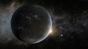Kepler Uydu Gezegen Uzay Yıldızlar 5 Dünya & Uzay Kanvas Tablo
