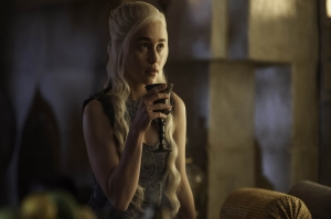 Khaleesi Daenerys Targaryen-4 Game Of Thrones Anime Kanvas Tablo