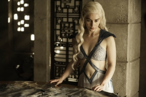 Khaleesi Daenerys Targaryen-6 Game Of Thrones Anime Kanvas Tablo