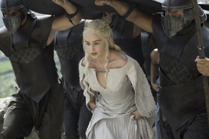 Khaleesi Daenerys Targaryen-7 Game Of Thrones Anime Kanvas Tablo