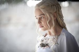 Khaleesi Daenerys Targaryen-8 Game Of Thrones Anime Kanvas Tablo