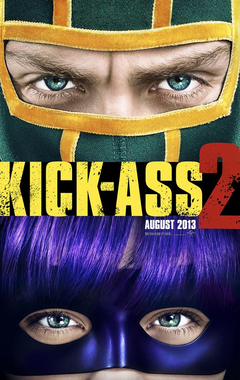 Kick Ass Afiş Kanvas Tablo 2