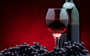 Kırmızı Şarap 5 Lezzetler Kanvas Tablo