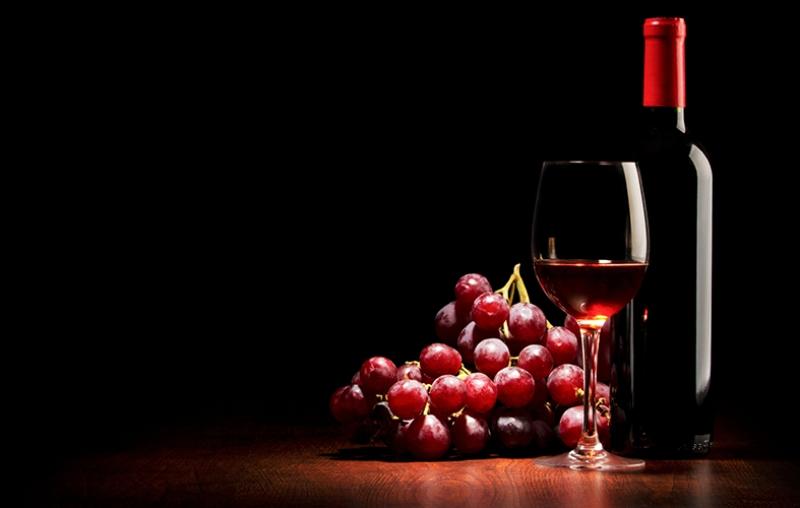 Kırmızı Şarap Sunum 2 Lezzetler Kanvas Tablo