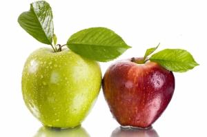 Kırmızı Yeşil Elmalar 2 Lezzetler Kanvas Tablo