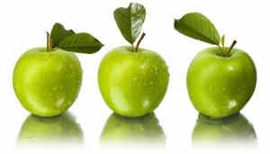 Kırmızı Yeşil Elmalar 3 Lezzetler Kanvas Tablo