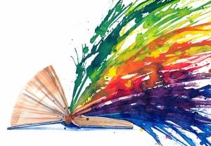 Kitap Popüler Kültür Kanvas Tablo