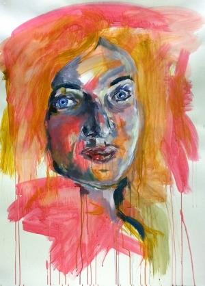Kız Yağlı Boya Sanat Kanvas Tablo