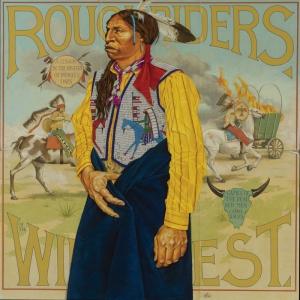 Kızıl Derililer Amerikan Yerlileri-11 Modern Sanat Kanvas Tablo
