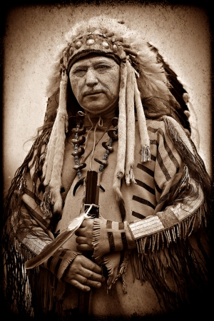 Kızıl Derililer Amerikan Yerlileri-16 Film Afişleri Kanvas Tablo