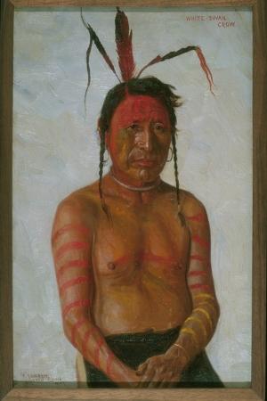 Kızıl Derililer Amerikan Yerlileri-41 Modern Sanat Kanvas Tablo