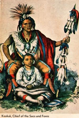 Kızıl Derililer Amerikan Yerlileri-47 Modern Sanat Kanvas Tablo