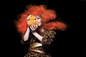Kızıl Saçlı Kız Fotoğraf Kanvas Tablo