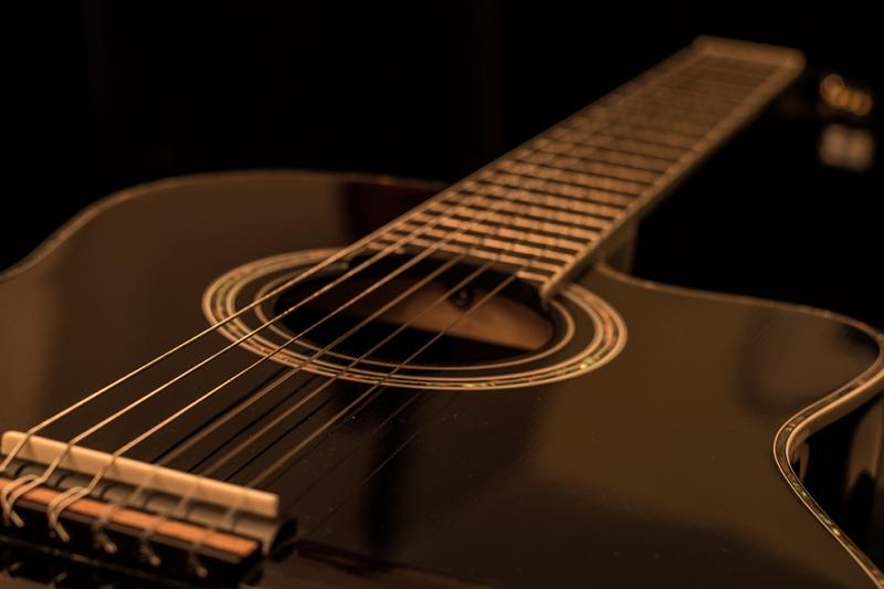 Klasik Gitar Fotoğraf Kanvas Tablo