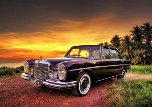 Klasik Mercedes Otomobil Araçlar Kanvas Tablo