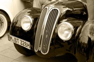Klasik Otomobil 3 Araçlar Kanvas Tablo