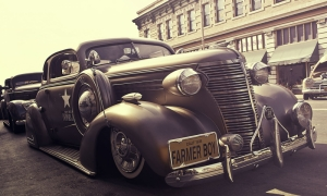 Klasik Otomobiller 1 Amerikan Klasik Arabalar Eski Araclar Kanvas Tablo