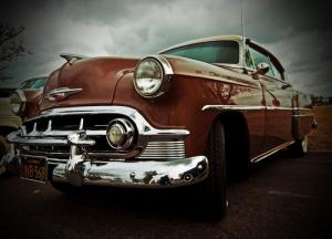 Klasik Otomobiller 11 Amerikan Klasik Arabalar Eski Araclar Kanvas Tablo