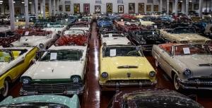 Klasik Otomobiller 55 Eski Klasik Amerikan Arabalar Poster Araclar Canvas Tablo