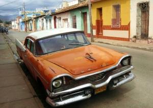 Klasik Otomobiller 61 Amerikan Klasik Arabalar Eski Araclar Kanvas Tablo