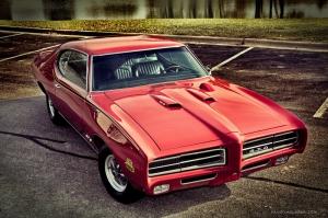 Klasik Otomobiller 66 Amerikan Klasik Arabalar Eski Araclar Kanvas Tablo