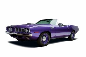 Klasik Otomobiller 69 Amerikan Klasik Arabalar Eski Araclar Kanvas Tablo